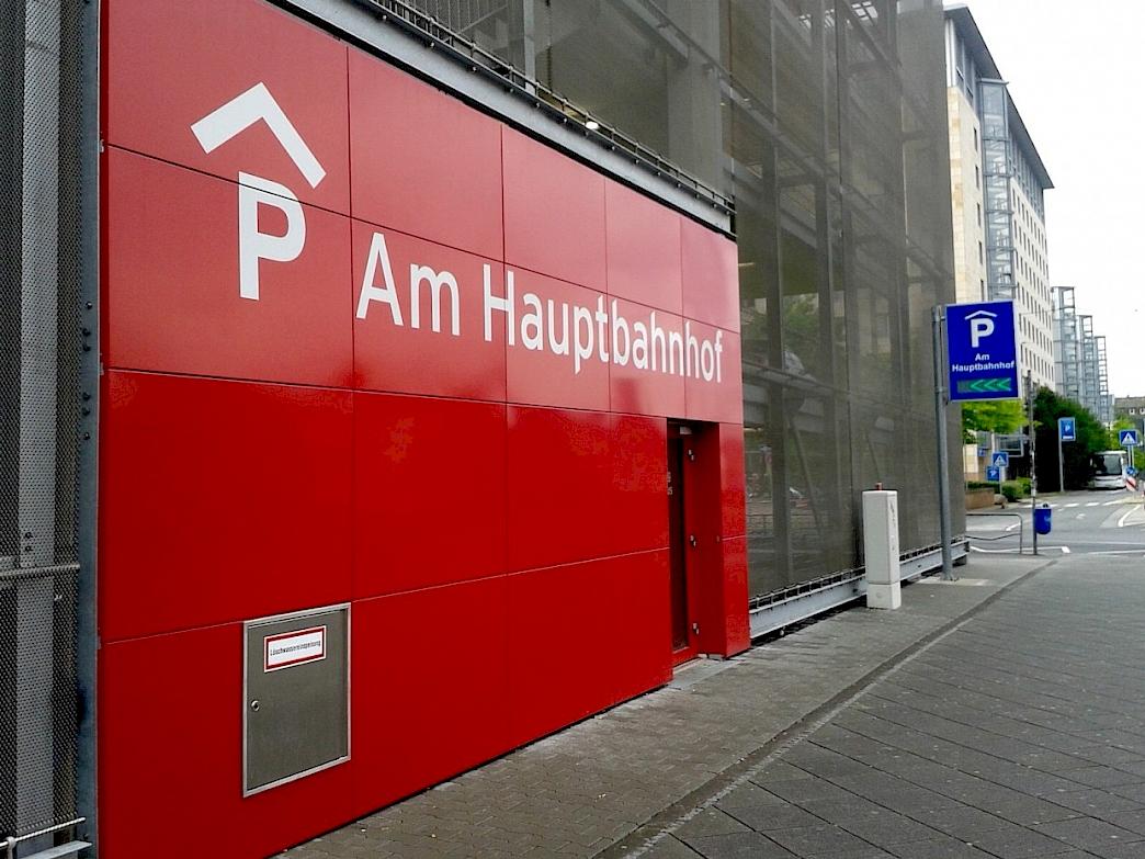 Frankfurt Bahnhof Parken